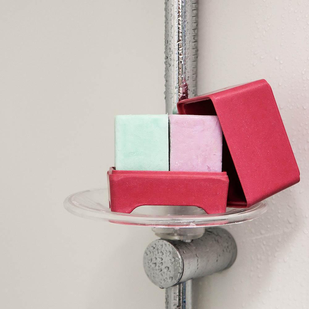紐西蘭Ethique|洗髮餅專用收納盒-粉紫