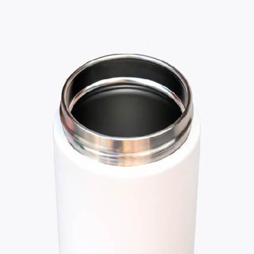 澳洲Fressko 繽紛炫彩雙層不鏽鋼保溫杯 – 純淨白