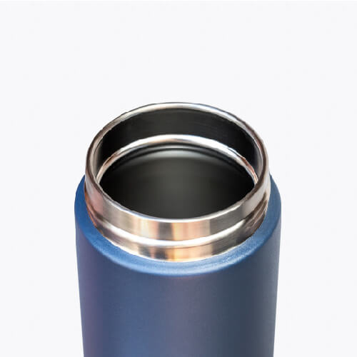 澳洲Fressko|繽紛炫彩雙層不鏽鋼保溫杯 – 丹寧藍