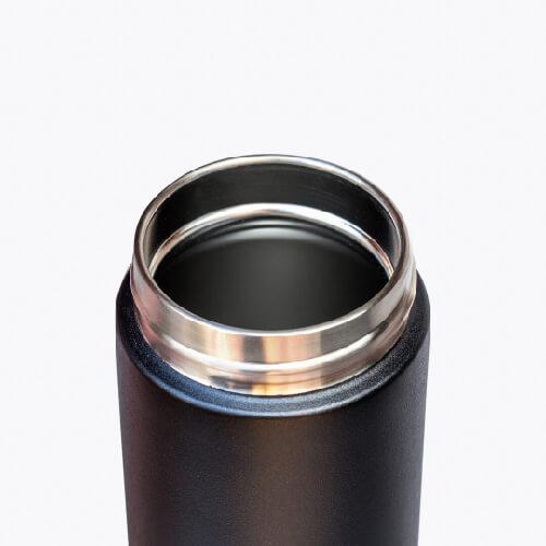 澳洲Fressko 繽紛炫彩雙層不鏽鋼保溫杯 – 石墨黑