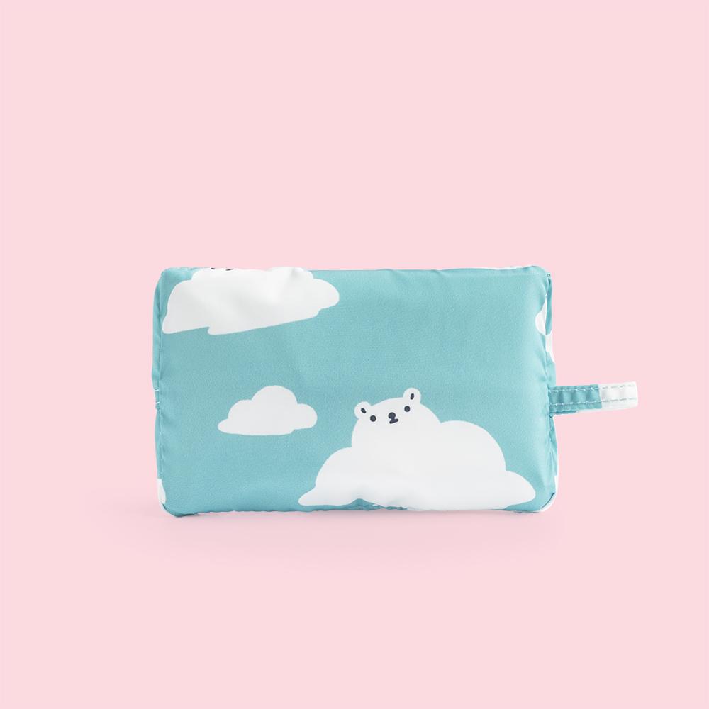 好日子|Pockeat環保食物袋(大食袋)白白白雲