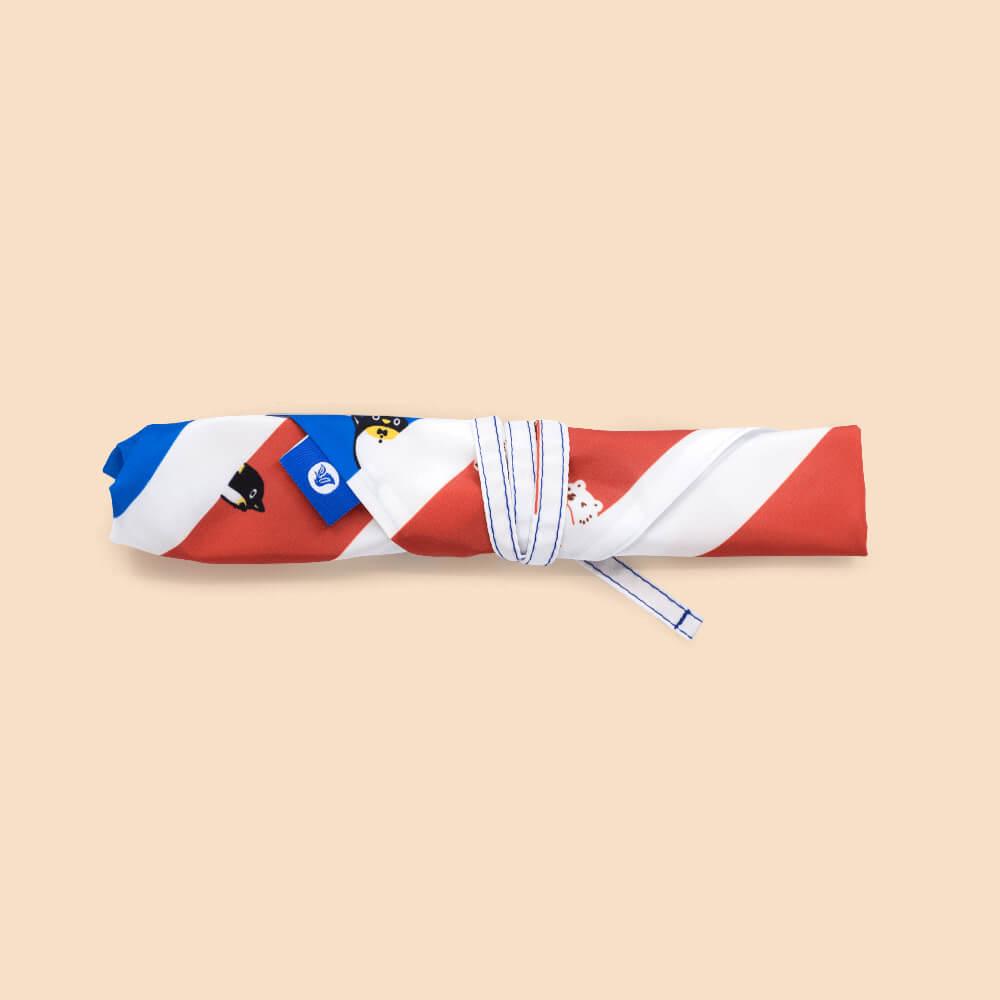 好日子 | 餐具套-白白紅白藍