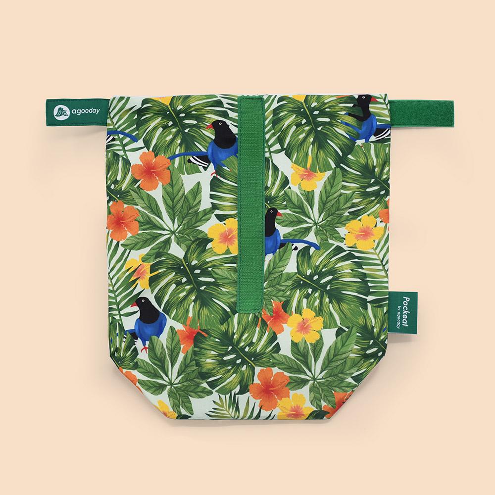 好日子 Pockeat環保食物袋(大食袋)寶島曼波