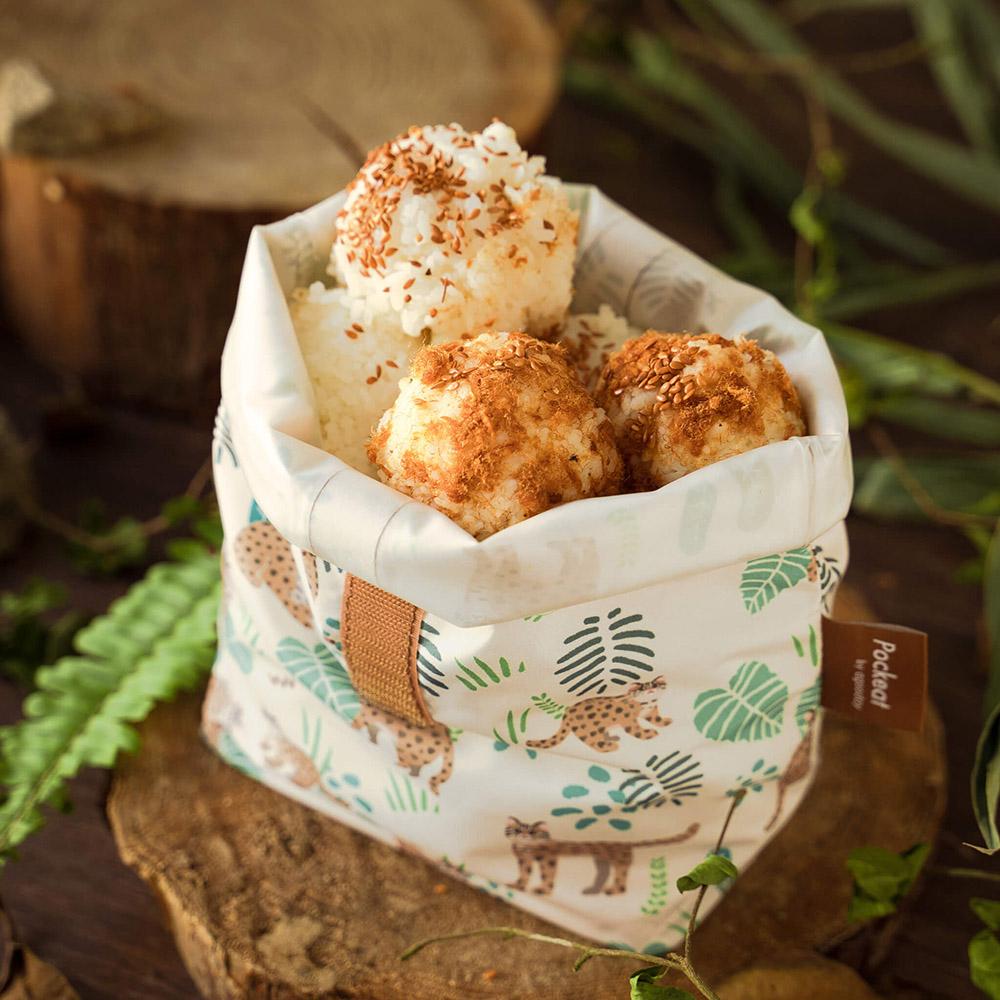好日子|Pockeat環保食物袋(大食袋)惜惜石虎