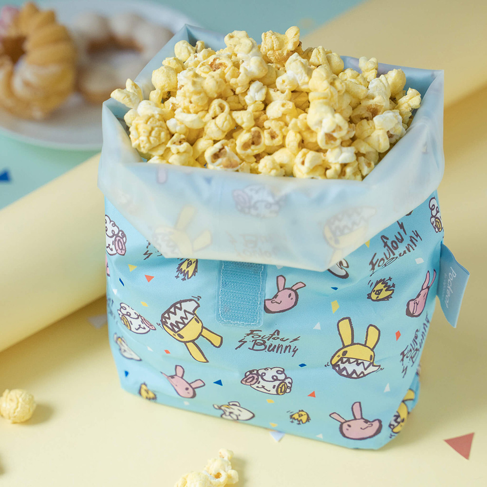 好日子|Pockeat環保食物袋(大食袋)瘋狂邦妮塗鴉款