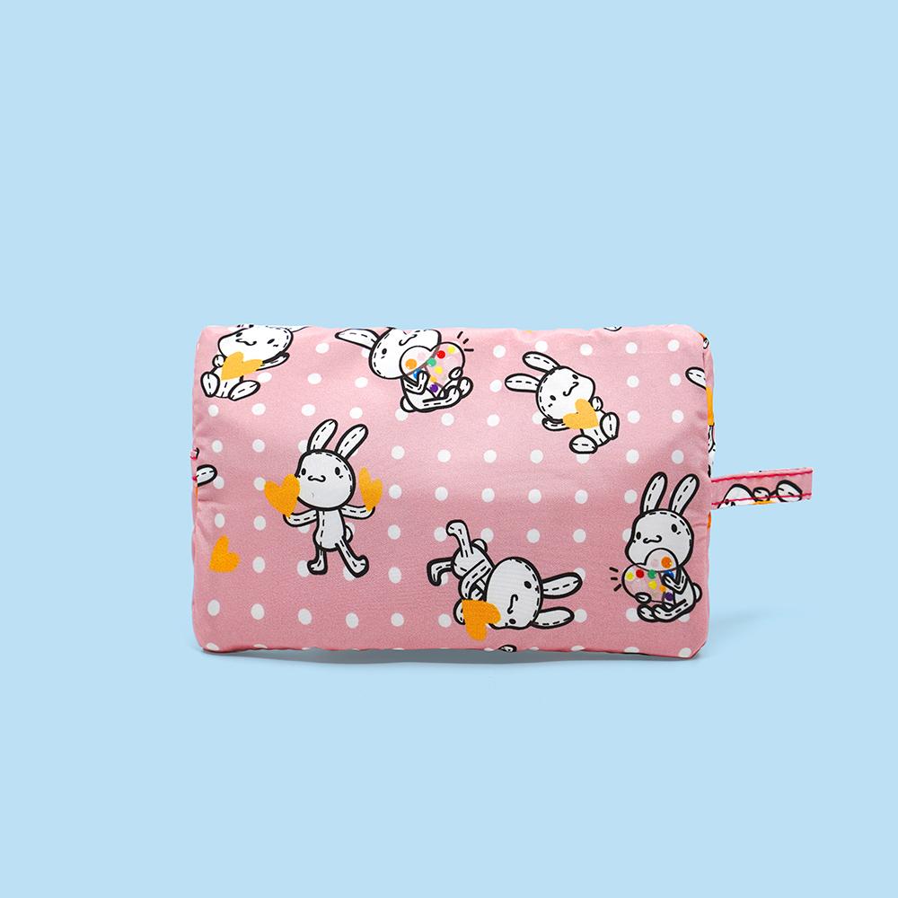 好日子|Pockeat環保食物袋(小食袋) 瘋狂邦妮愛心兔寶