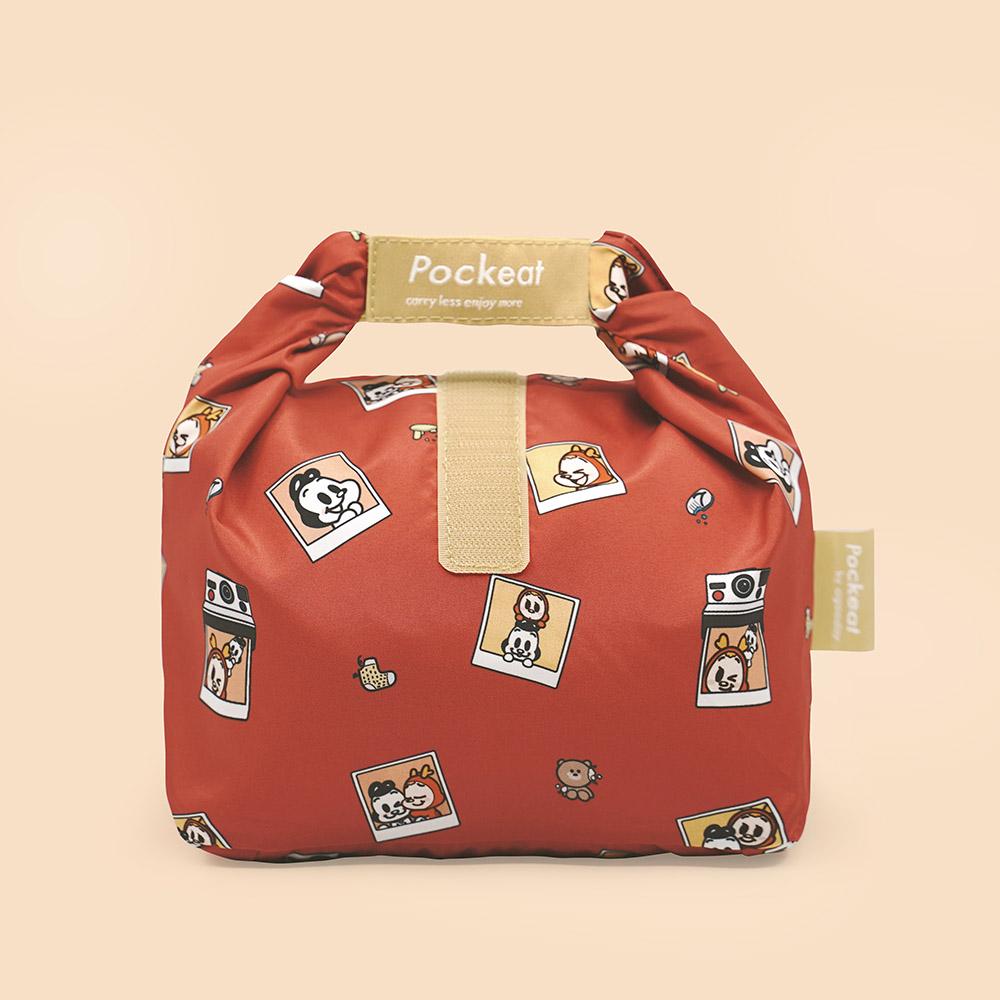 好日子 Pockeat環保食物袋(小食袋) 狗與鹿聯名款 - 最好的朋友
