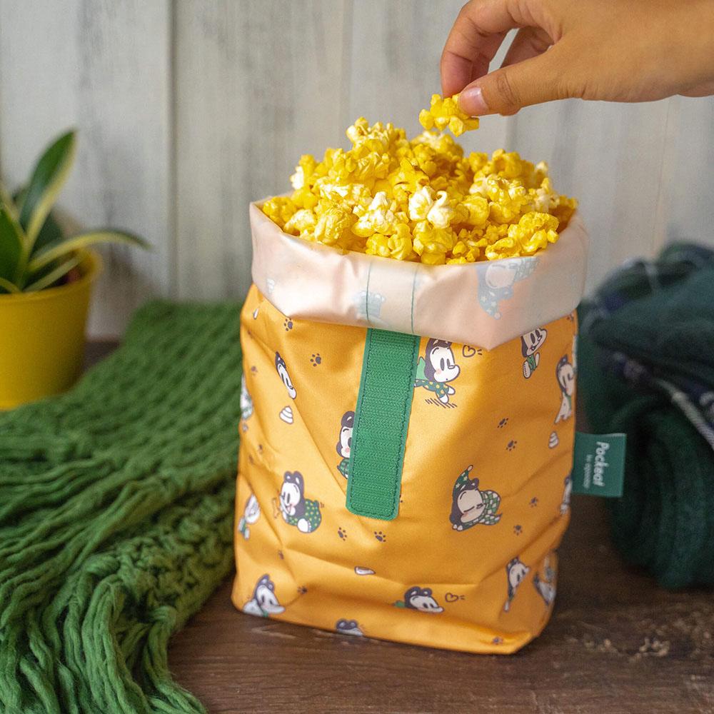 好日子|Pockeat環保食物袋(大食袋) 狗與鹿聯名款 - 暖暖的冬天