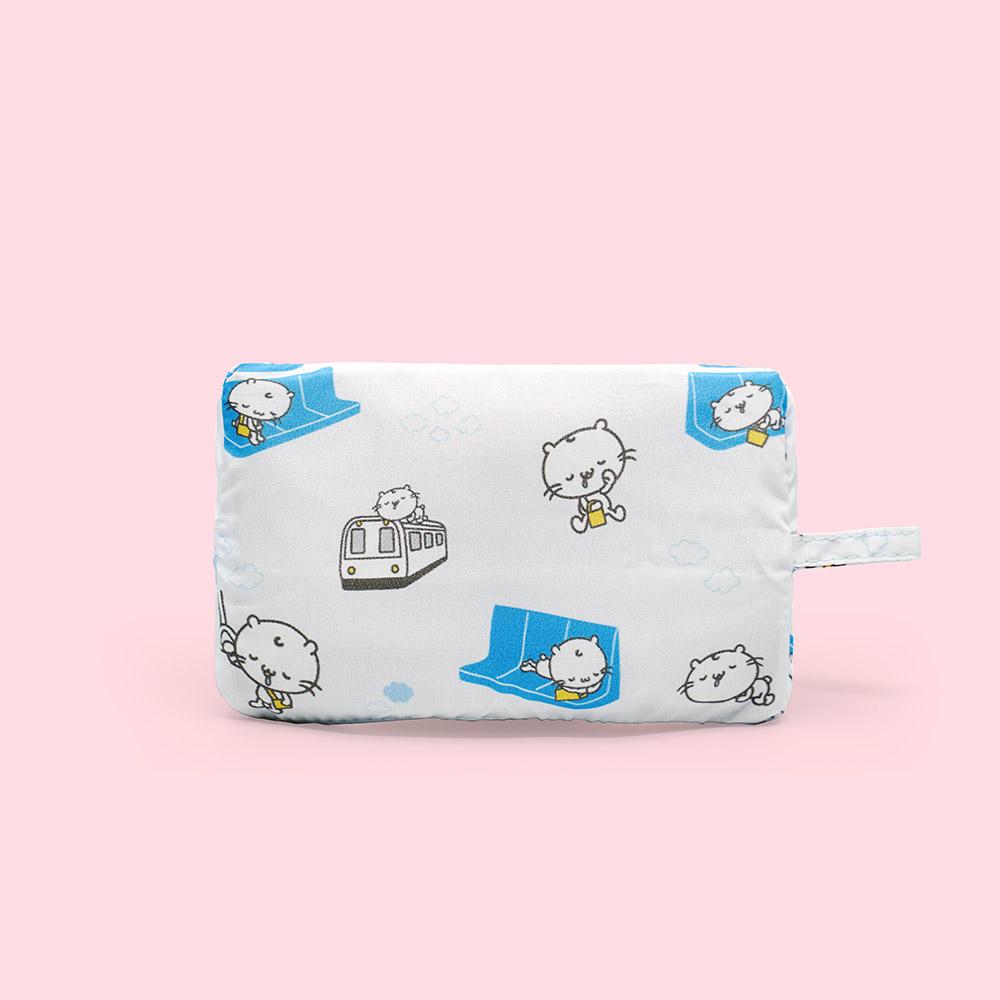 好日子|Pockeat環保食物袋(大食袋) 麻吉貓睡過頭