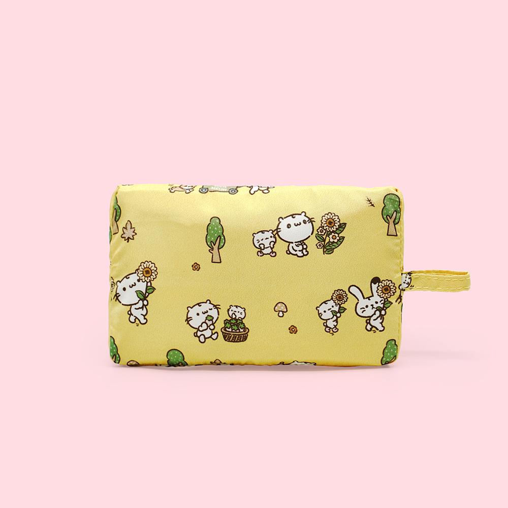 好日子|Pockeat環保食物袋(小食袋) 麻吉貓想放假