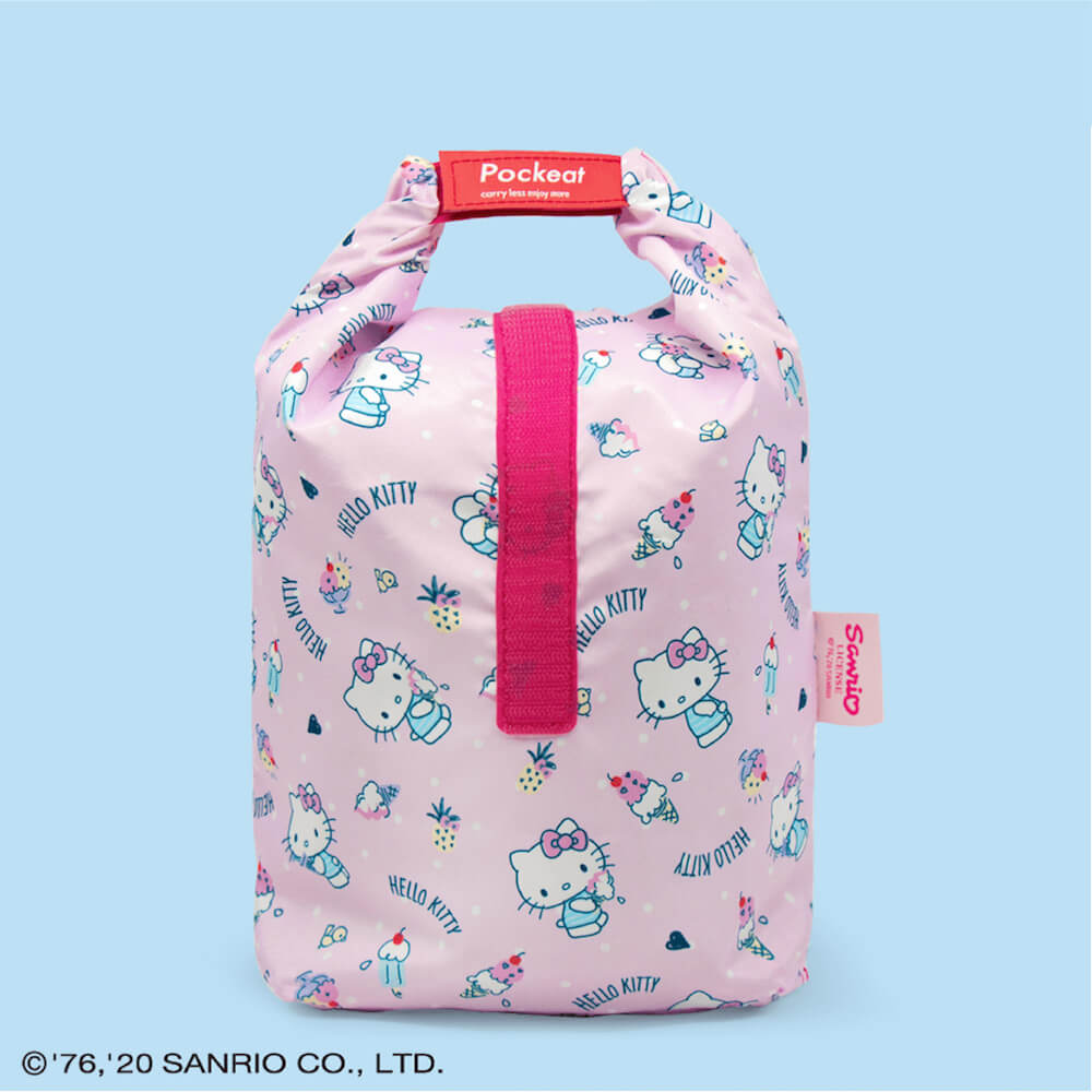 好日子|Pockeat環保食物袋(大食袋)Hello Kitty聯名款 - 甜點派對