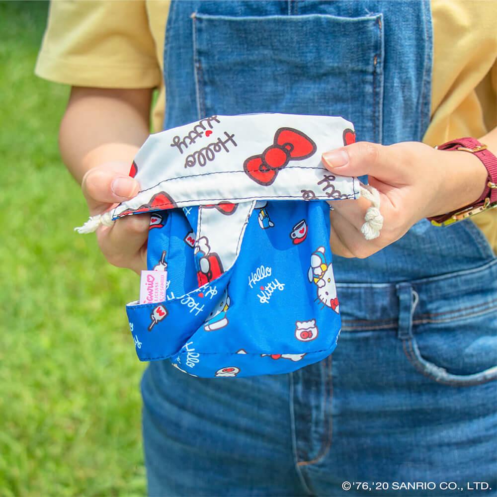 好日子 雙色飲料提袋 - Hello Kitty聯名款 - 凱蒂的日常