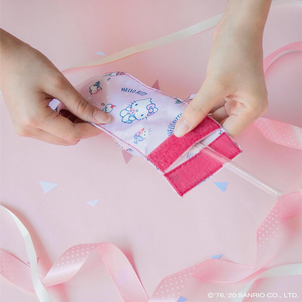 好日子|兩用飲料杯套- Hello Kitty聯名款 - 甜點派對