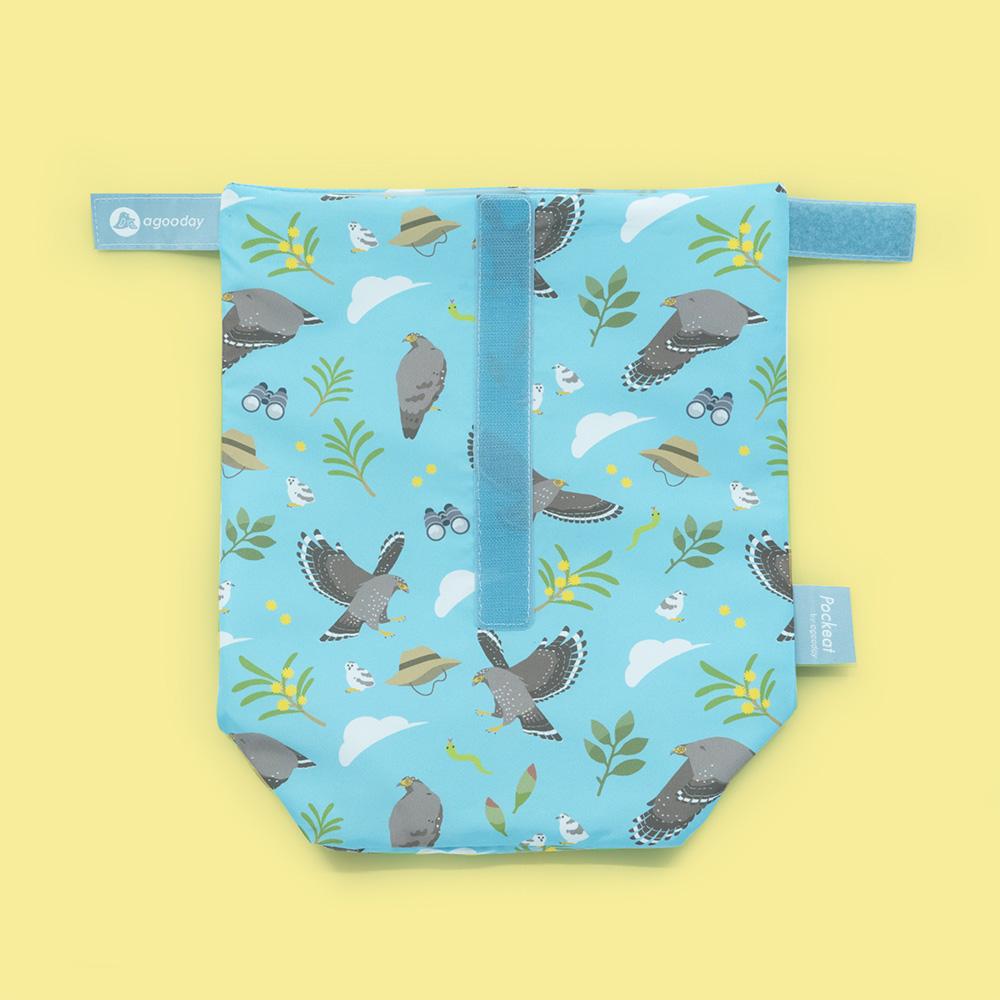 好日子|Pockeat環保食物袋(大食袋)台灣猛禽研究會-大冠鷲