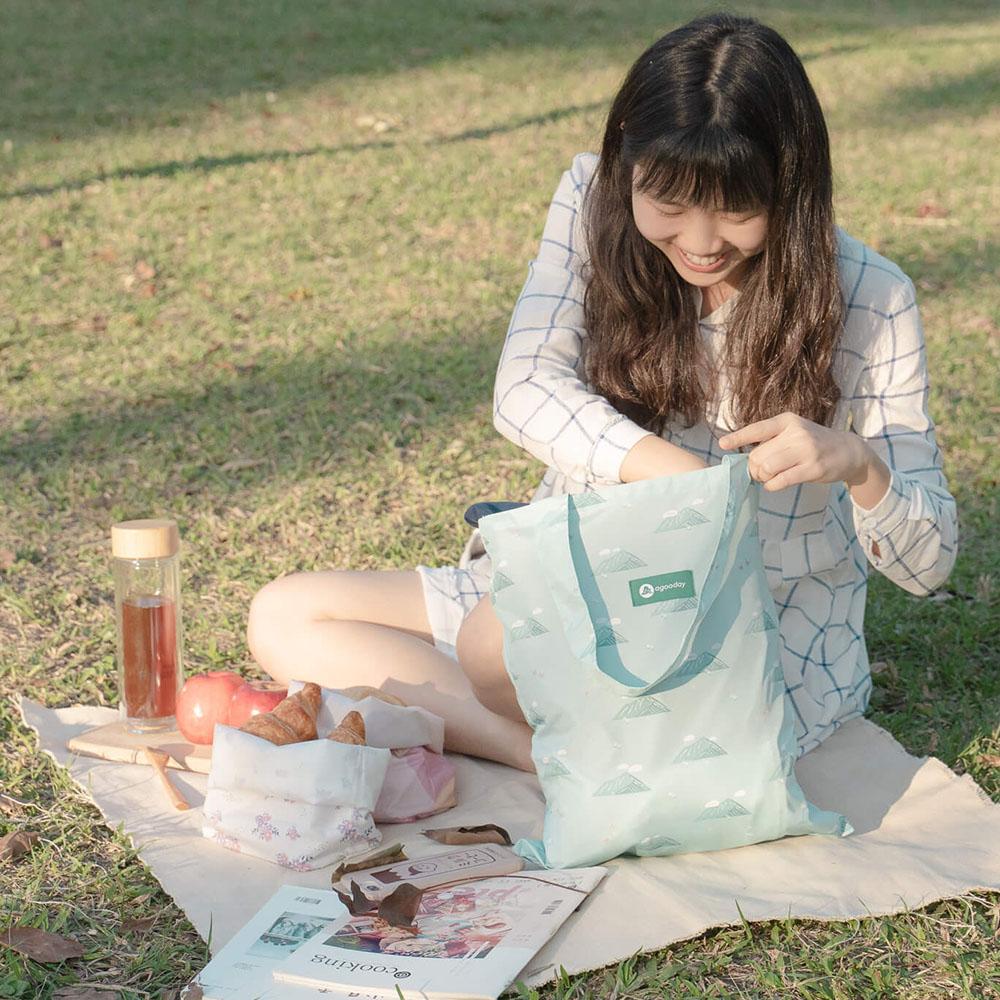 好日子|再生購物袋- 龜山島