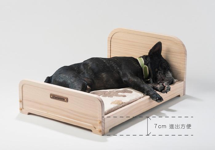 拍拍|寵物木眠床 M (不含寢具組)