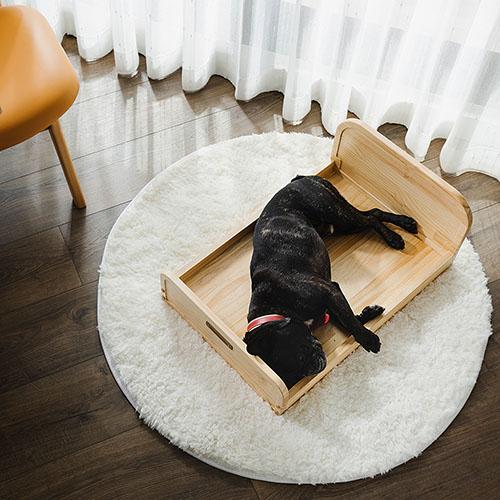 拍拍│原木寵物床-M