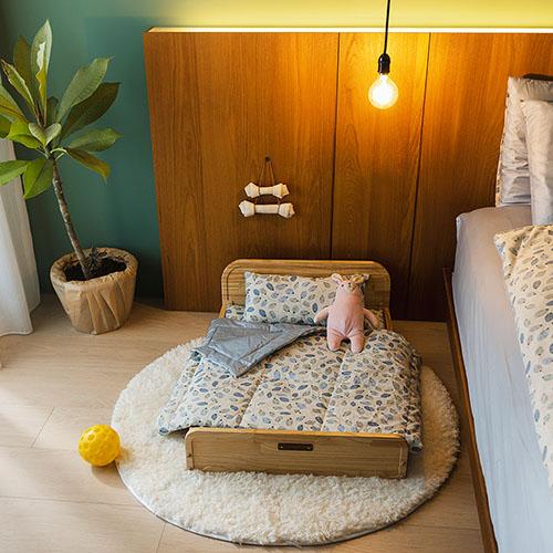 拍拍│原木寵物床-L
