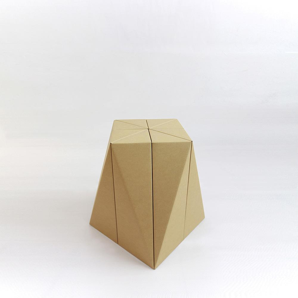 MisoSoupDesign|SPIRAL STOOL 好好摺紙凳