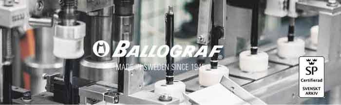 Ballograf|瑞典筆 Epoca P Luxe 對筆組 黑身原子筆 白身自動鉛筆