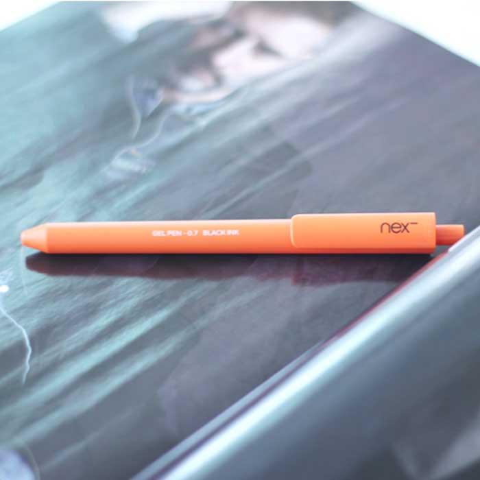 PREMEC NEX GEL PEN 膠墨筆 黃橘水藍 三入組