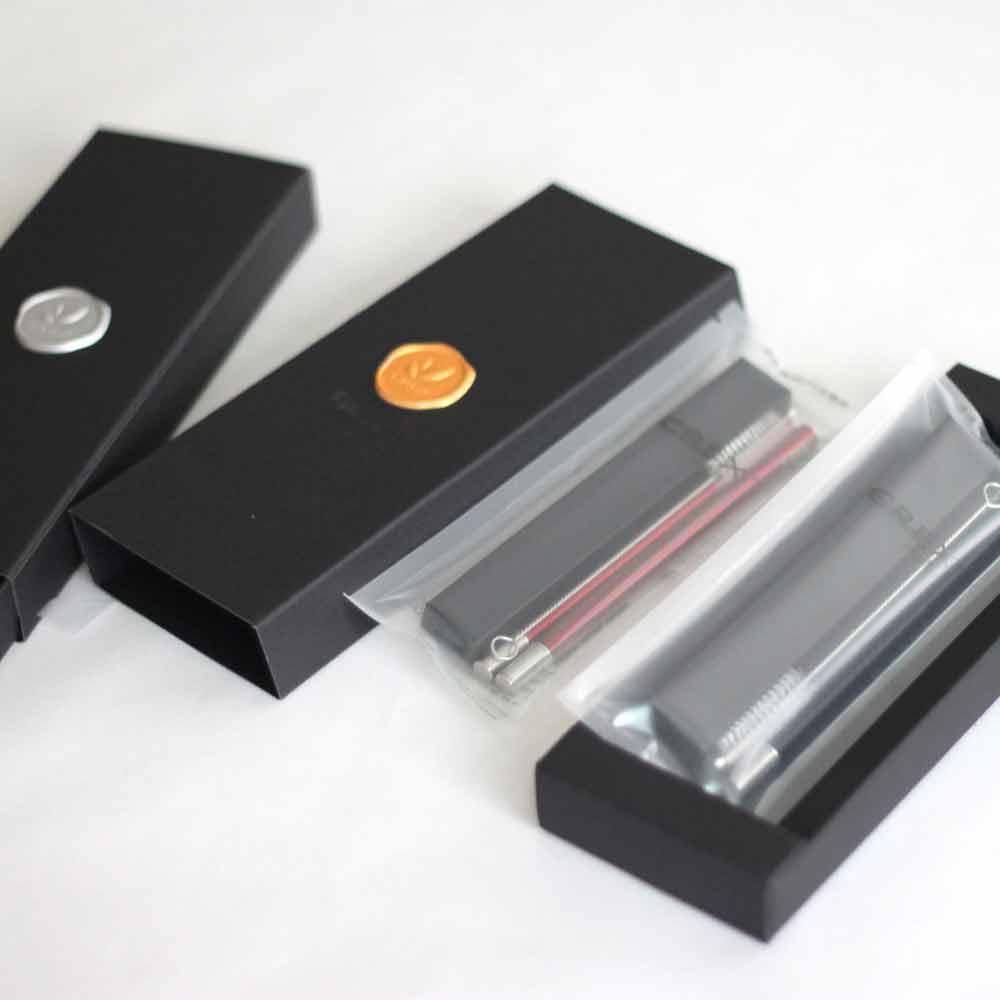 CREX CHOCOSTICKS 巧克力隨行筷 簡約禮盒版 黑盒紅筷