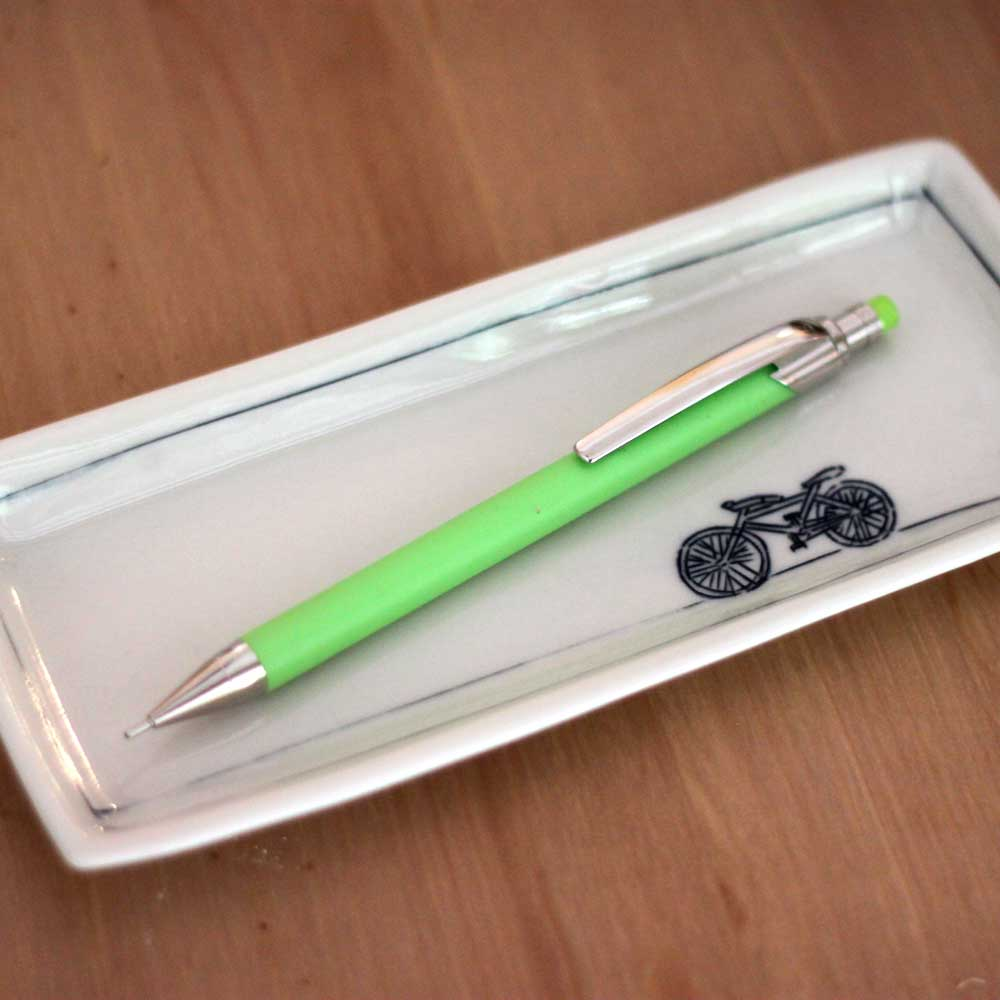 Ballograf|瑞典筆 Rondo Soft 萊姆綠 75732 自動鉛筆 0.7