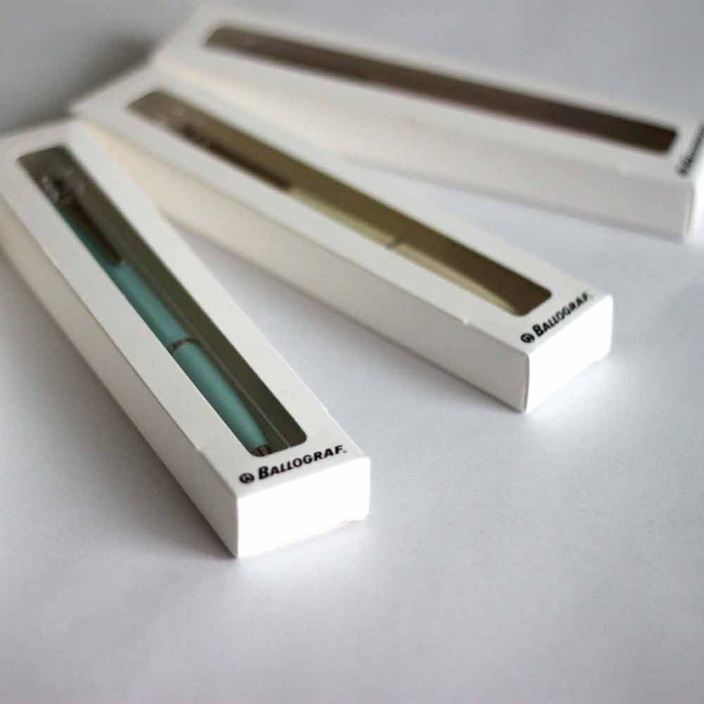 Ballograf|瑞典筆 Rondo Soft  75728 綠松石 自動鉛筆 0.7