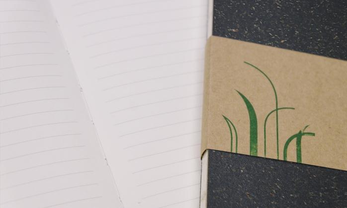 Truegrasses 真草筆記本5