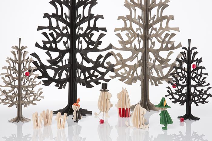 LOVI|3D立體拼圖樺木明信片/擺飾-寶貝兔 (6 cm)