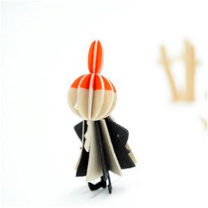 LOVI|3D立體拼圖樺木明信片/擺飾-嚕嚕米系列/小不點(8cm)