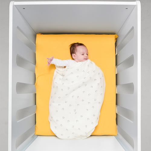 鯊魚咬一口 BabyBites|100% 純棉舒適透氣超萌圖騰包巾-可愛鴨鴨