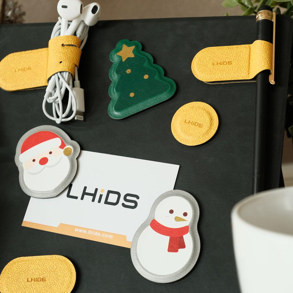 LHiDS|MagEasy 秒收磁吸收納套組 (A5筆記本兩入組)+聖誕限定磁鐵三入組