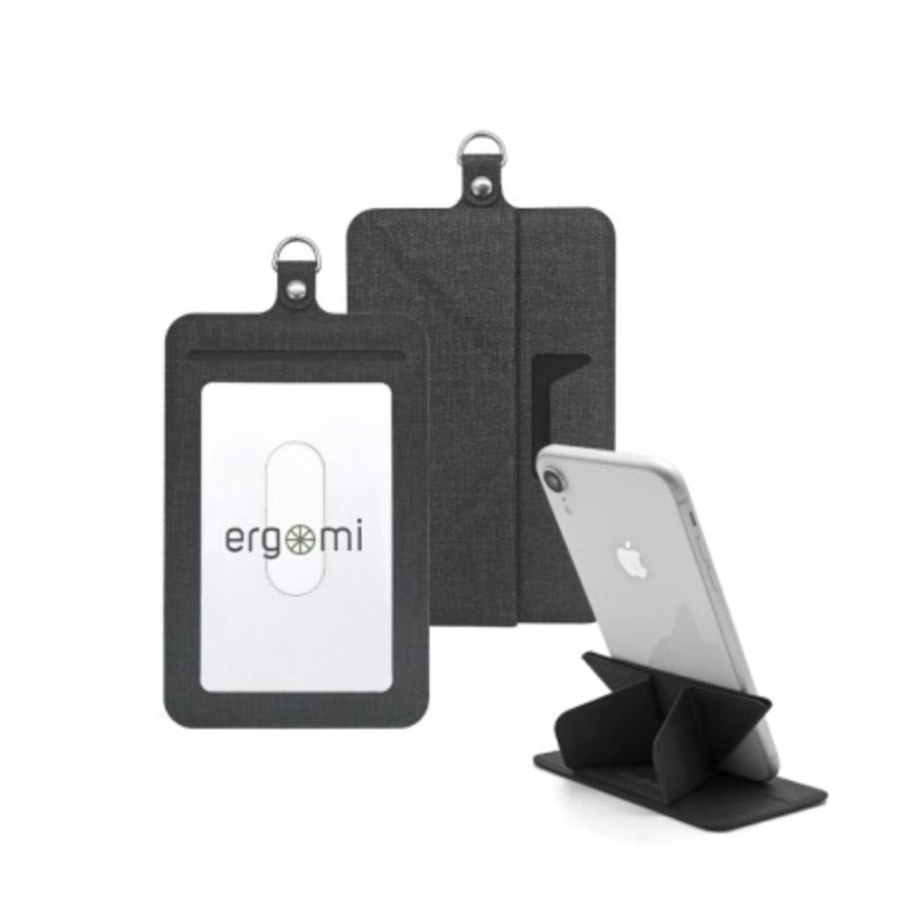 ergomi|Transformer 識別證手機支架 (橫式直式七色任選)