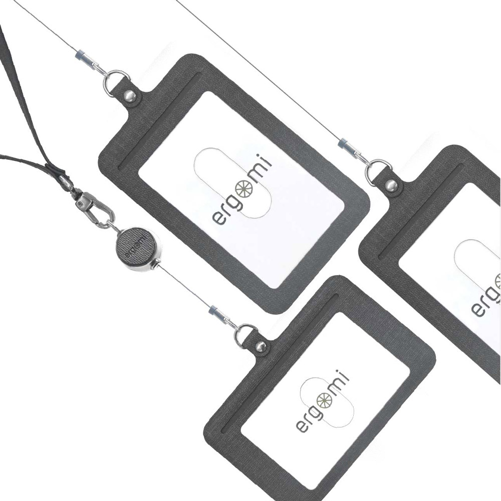 ergomi|Transformer 識別證手機支架-5入組 (橫式直式七色任選)