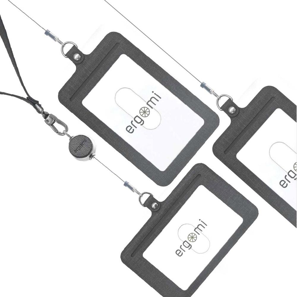 ergomi Transformer 識別證手機支架2入組 (橫式直式七色任選)