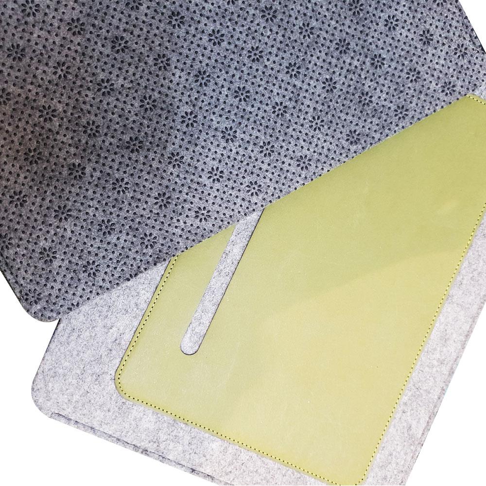 HARK|2 tone 文件收納雙材質滑鼠墊 (HMP-06)