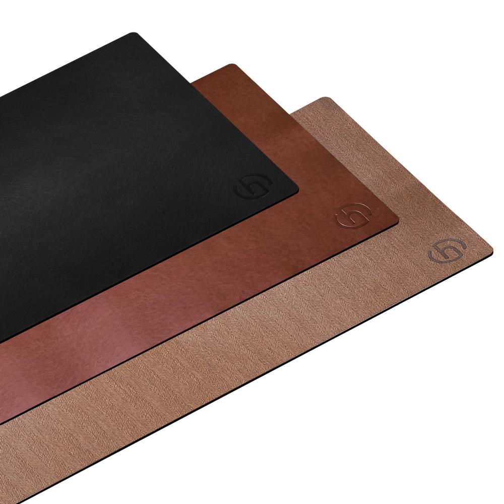 HARK|經典皮革辦公室桌墊/滑鼠墊 (HMP-8040)