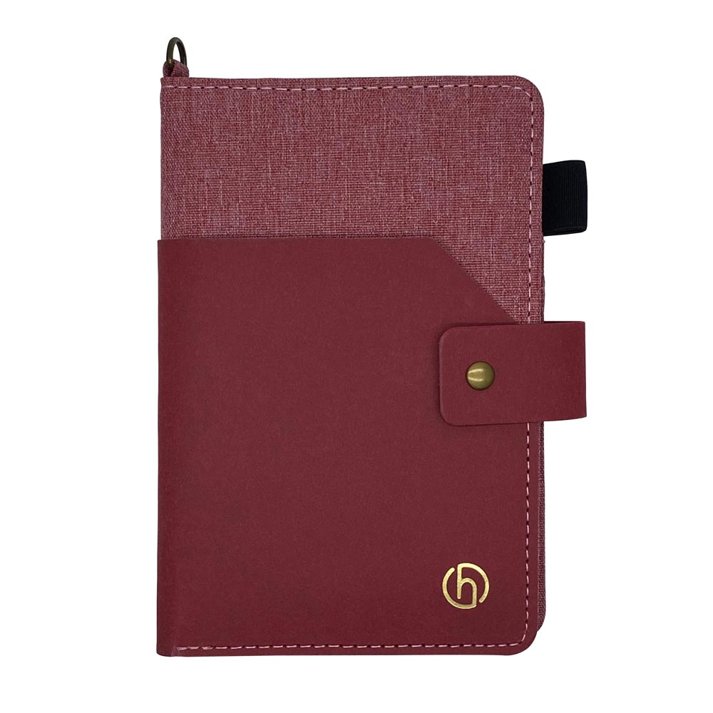 HARK|水洗牛皮紙多功能護照夾(附贈取卡針)