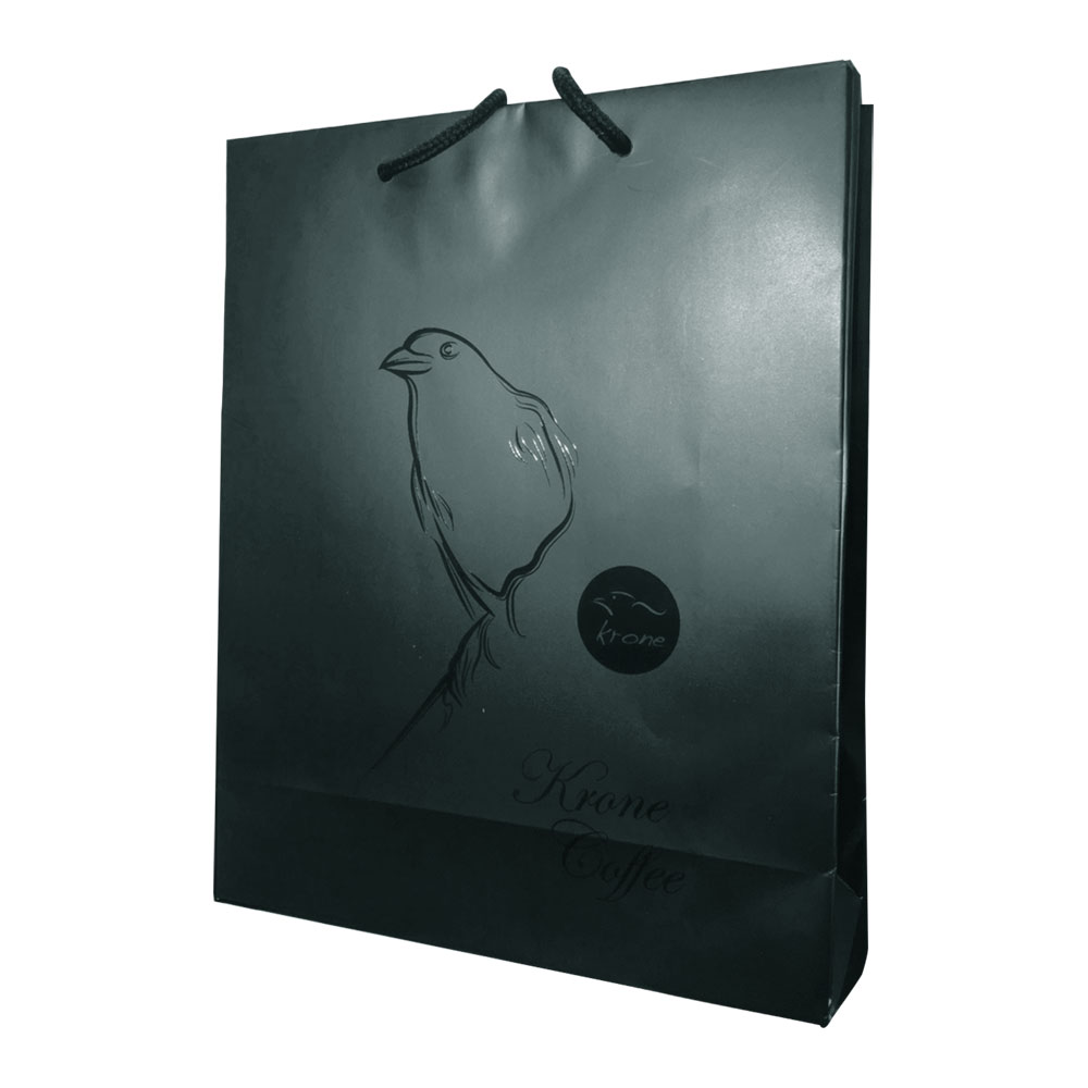 Krone皇雀|精選綜合藍山半磅咖啡豆+咖啡封口夾量匙時尚禮盒組