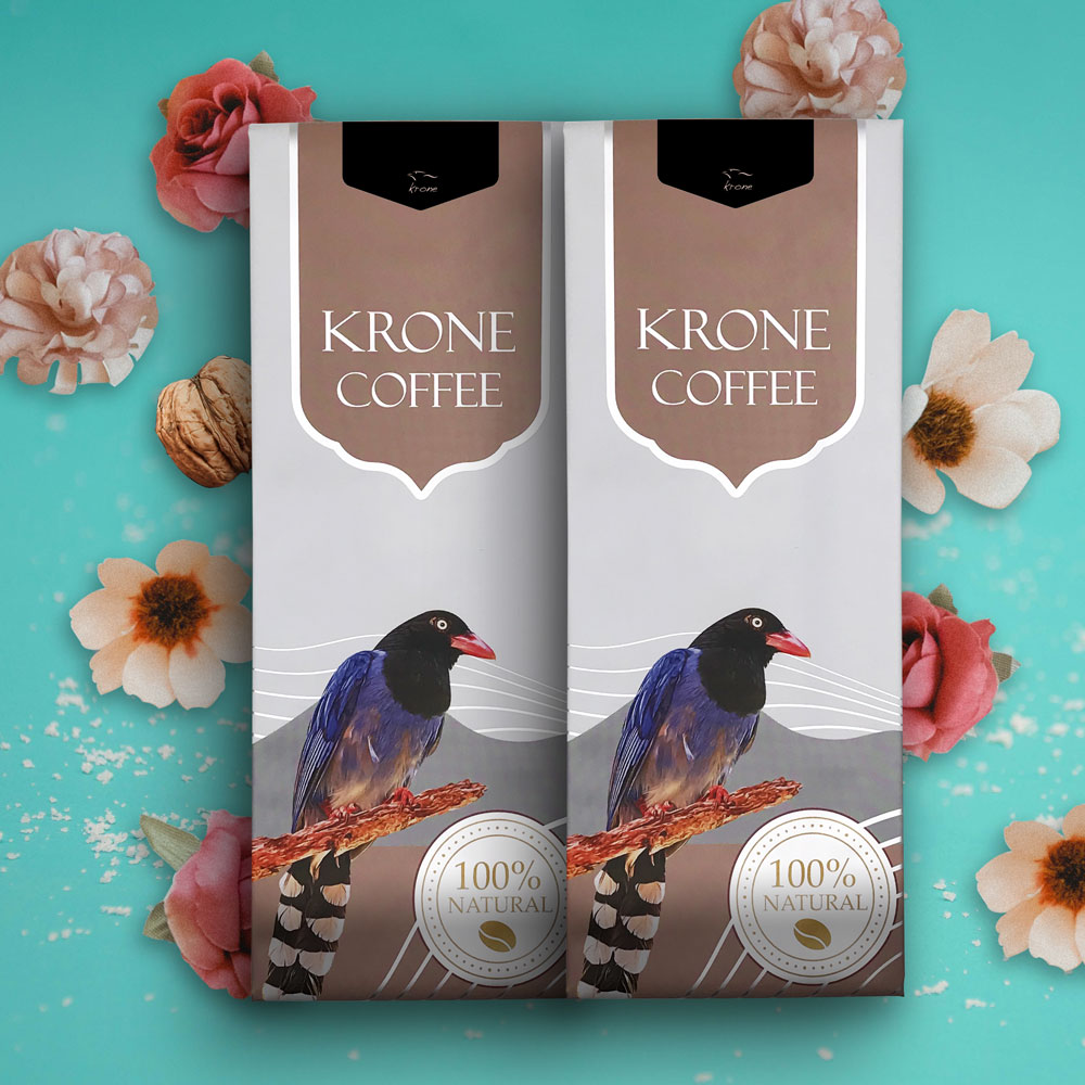 Krone皇雀|巴西-山多士咖啡豆(227g/半磅) x2包