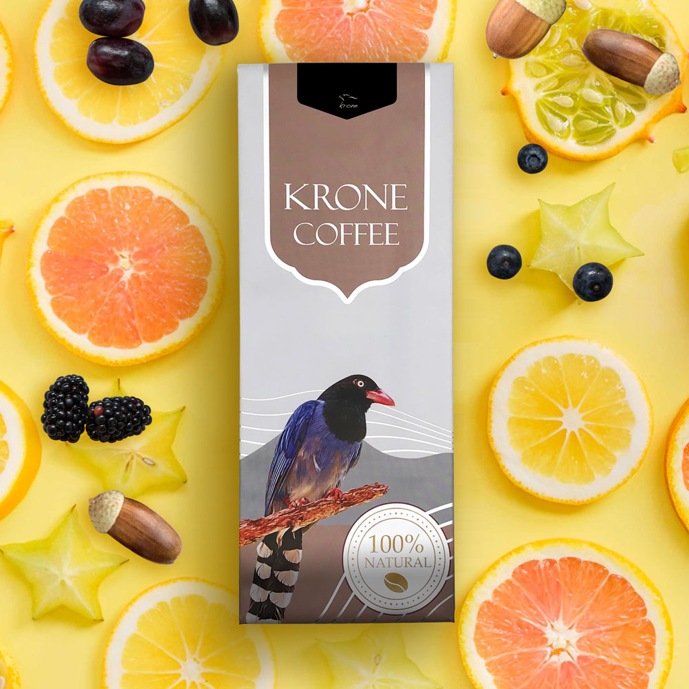 Krone皇雀|瓜地馬拉-薇薇特南果咖啡豆(227g/半磅)