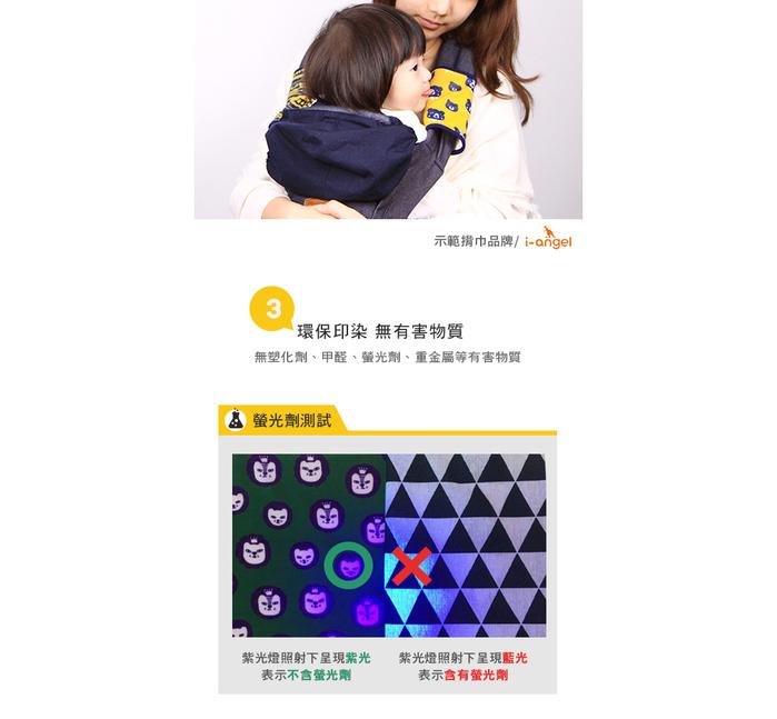 OGG|甜甜馬戲團揹巾口水巾 (Mr. Cookie 酷克獅)