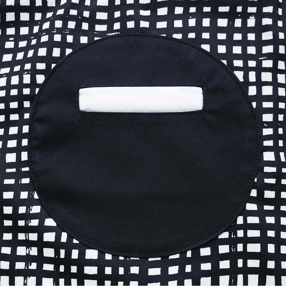 OGG|幾何趣經典寶寶工作圍裙袖套組(拼拼格子)