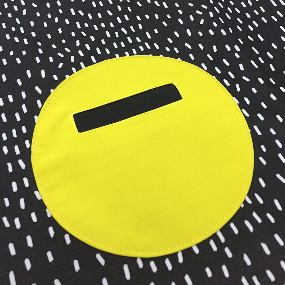 OGG|幾何趣拼色媽咪工作圍裙(嗒嗒雨點)
