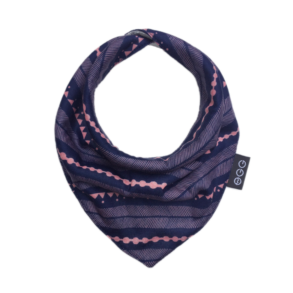 OGG|甜甜馬戲團三角口水巾 (Colly 企鵝可莉)