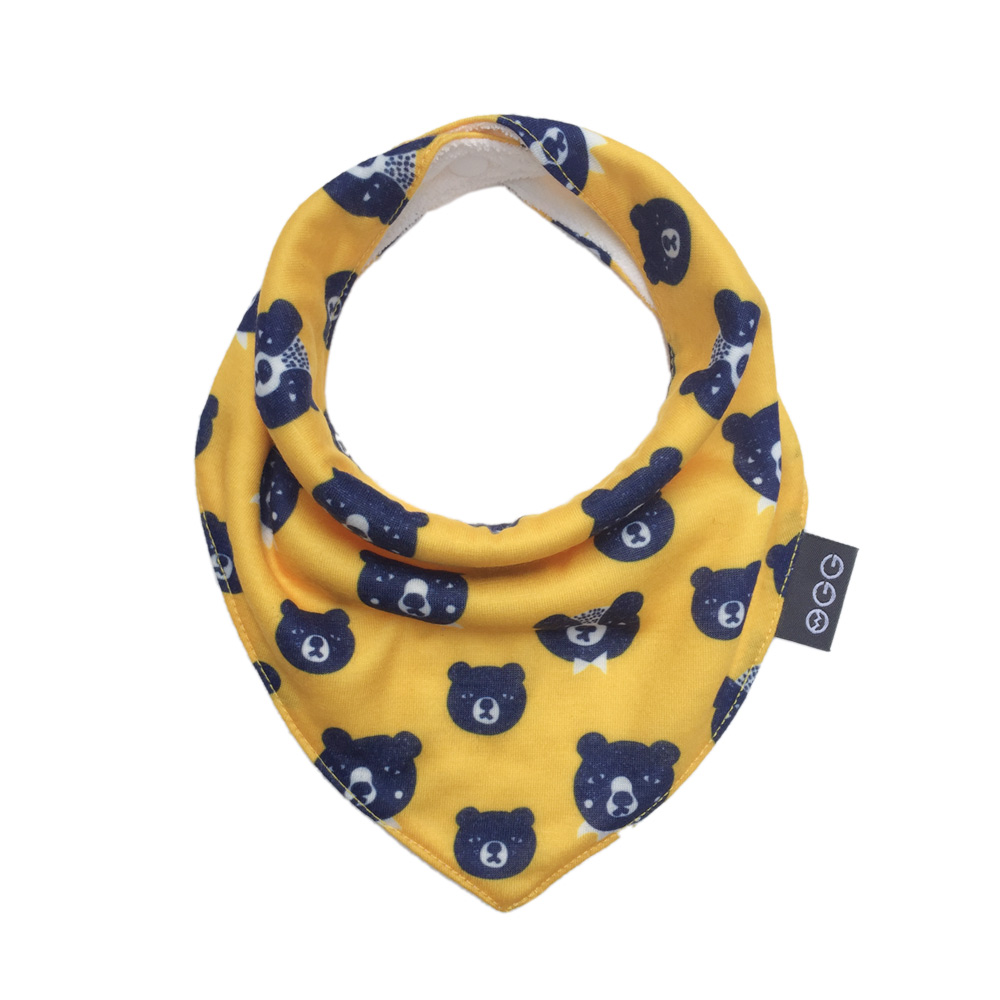 OGG|甜甜馬戲團三角口水巾 (Fluff Bear 綿綿熊)