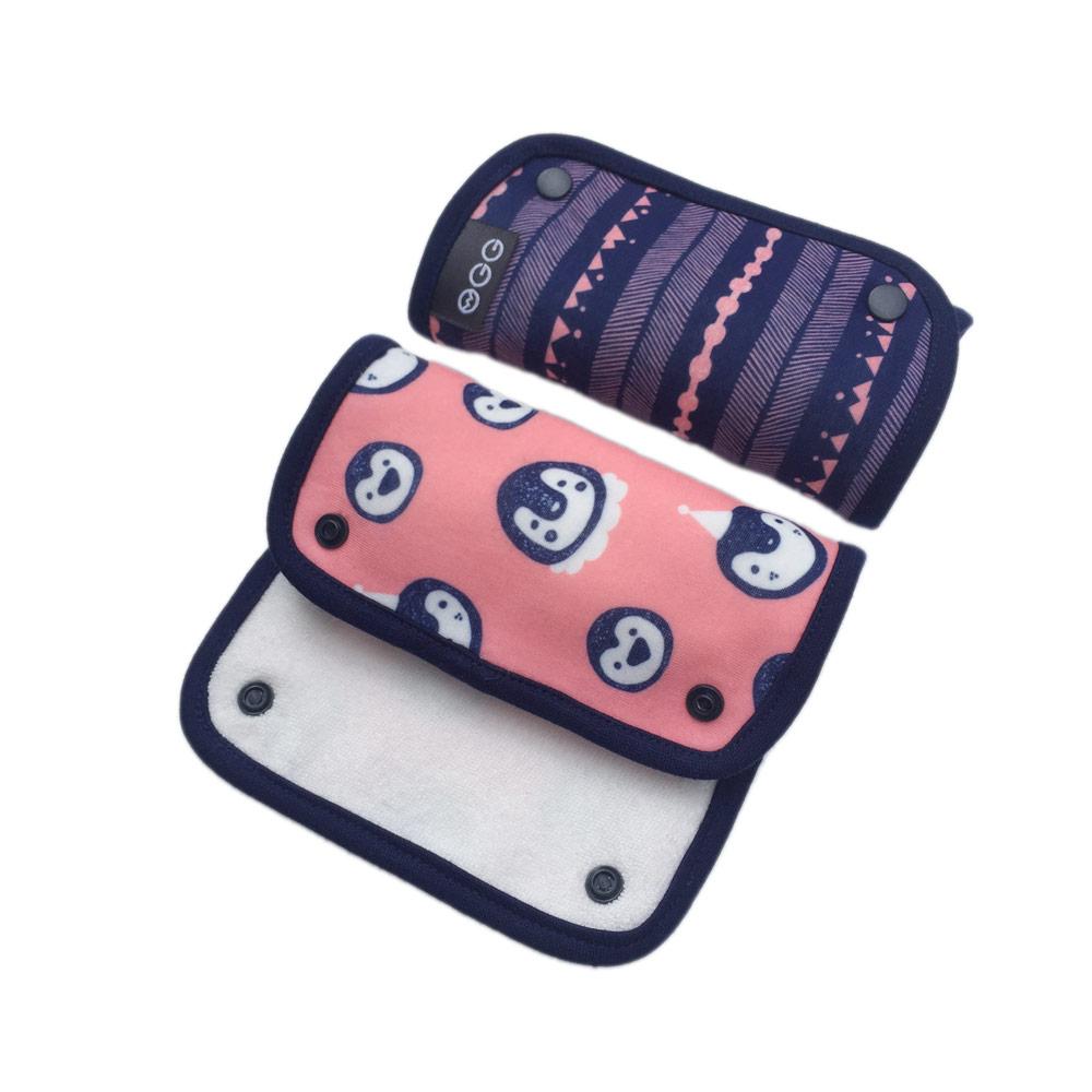 OGG|甜甜馬戲團揹巾口水巾 (Colly 企鵝可莉)
