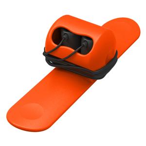 MOOY|Snappy 耳機捲線器(蜜糖橘orange)