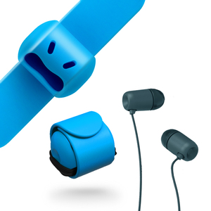 MOOY|Snappy WOW 耳機捲線器(晴空藍Blue)